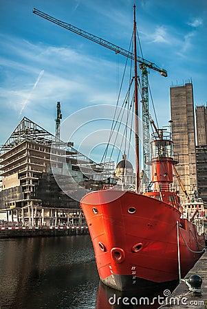 Liverpool Dock Construction