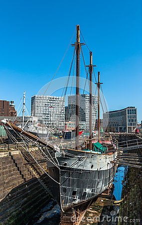 Liverpool Dry Dock Editorial Image