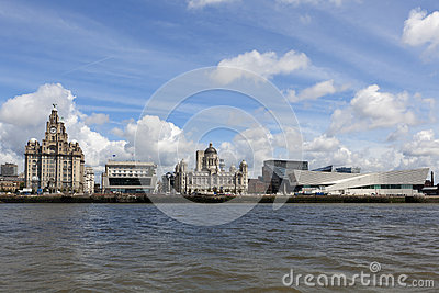 Liverpool from the ferry