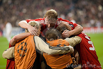 Liverpool Goal Celebration 2 Editorial Stock Photo