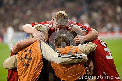 Liverpool Goal Celebration 2 Editorial Stock Photo
