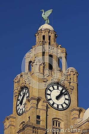 Free Liverpool Liver Building 02 Stock Photos - 835523