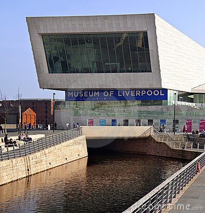 Liverpool - Museum of Liverpool - United Kingdom Editorial Stock Photo