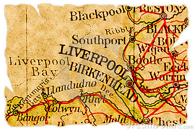 Liverpool old map