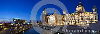 Liverpool Panoramic Editorial Image