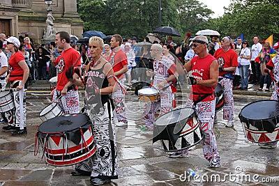 Liverpool pride parade Editorial Photo