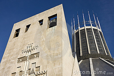 Liverpool Roman Catholic Cathedral - England Editorial Stock Image