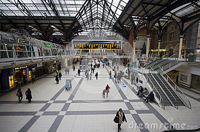 Liverpool Station London Editorial Image