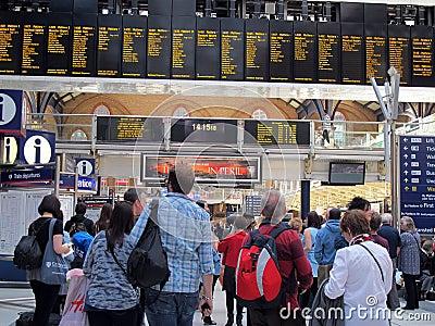 Liverpool Street Station, London Editorial Image