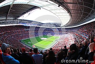 Liverpool vs Everton FA Cup Semi Final 2012 Editorial Image