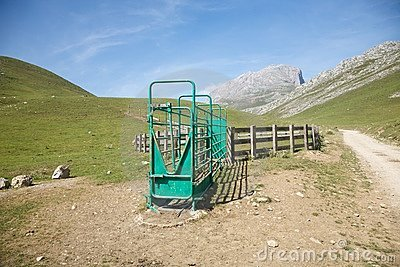 Livestock enclosure in Cantabrian valley