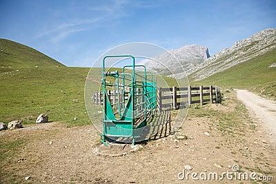 Livestock enclosure in Cantabrian valley