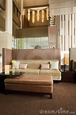 Living area at lobby