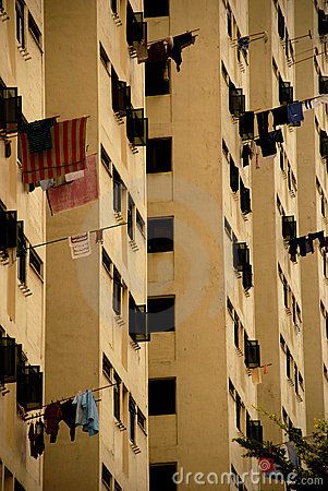 Free Living In Singapore HDB Flats Stock Photography - 1505452