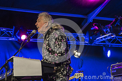 A living legend, john mayall, england, notodden blues festival Editorial Stock Image