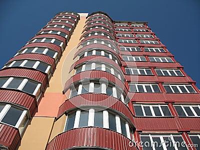 Living modern building