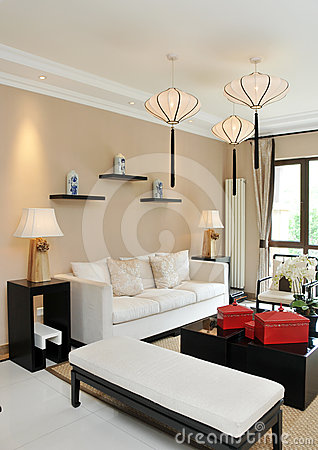 Free Living Room Royalty Free Stock Image - 24350386