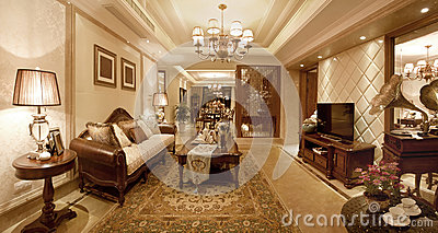 Living room classical