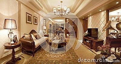 Living room classical