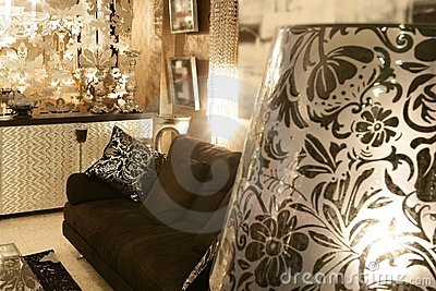 Living Room Furniture on Living Room Coach Black Sofa Silver Furniture  Click Image To Zoom