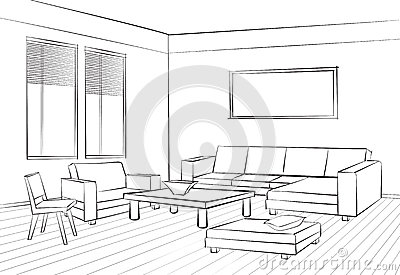 Interior Design Sketches Living Room exellent interior design sketches living room kitchen villa japan