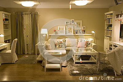Living room furniture store Editorial Photo
