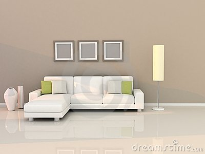 Living room with modern style