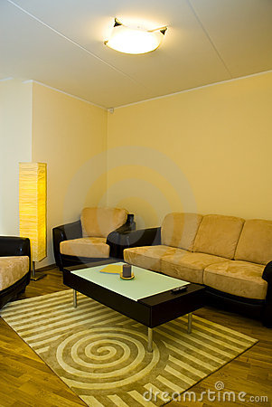 Free Living Room Of An Apartment Royalty Free Stock Image - 4139176