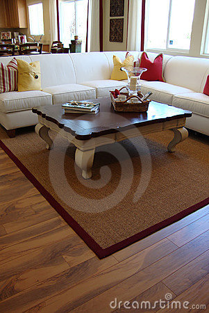 Free Living Room With Wood Floors Stock Image - 11458731
