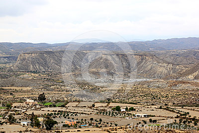 Living in the Tabernas desert, Spain, Andalusia
