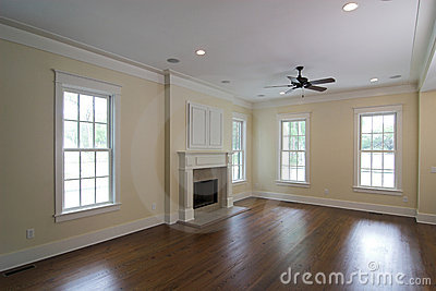 Livingroom with fireplace