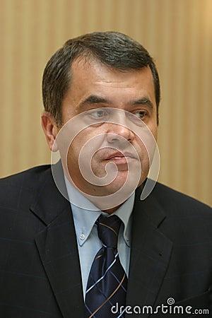 Liviu Дэн Dragan Редакционное Стоковое Фото
