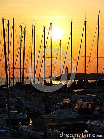 Livorno harbor