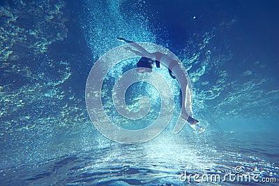 Livre o mergulho