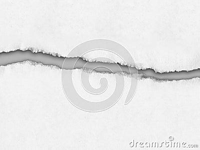 Livro Branco rasgado