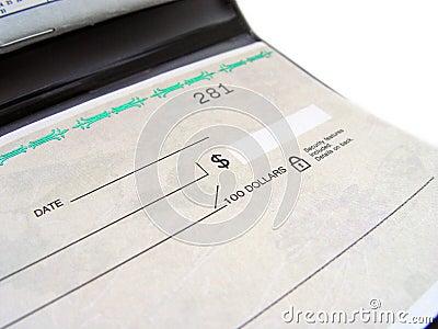 Livro de cheque