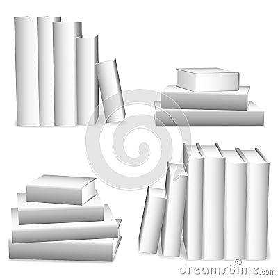 Livros brancos.