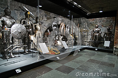 Livrustkammaren Museum- The Armory Editorial Stock Image