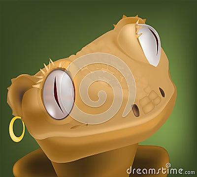 Lizard from children s cartoon films