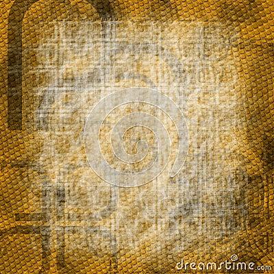 Lizard Skin Grunge Background