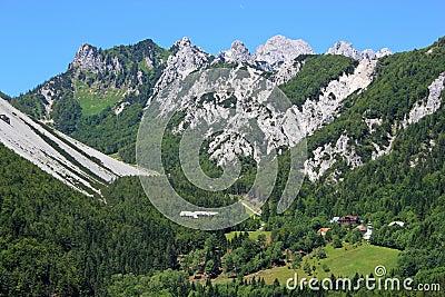 Ljubelj pass, Alps, Slovenia