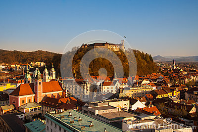 Ljubljana, capital of Slovenia.