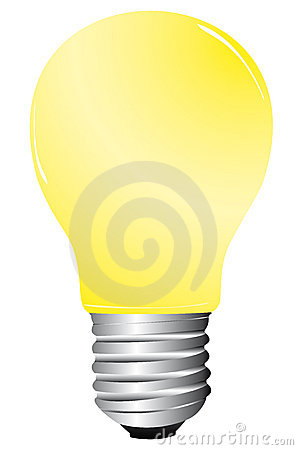 Ljus illustrationlampa
