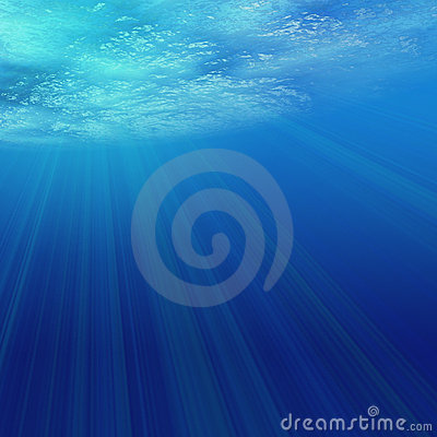 Ljust undervattens-