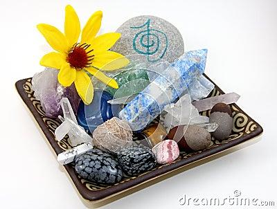 Läka för kristaller