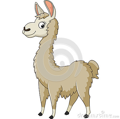 Free Llama Cartoon Royalty Free Stock Photo - 70110025