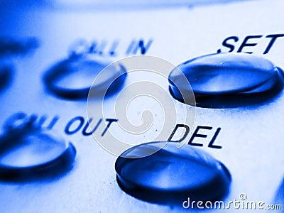 Llame por teléfono a los botones