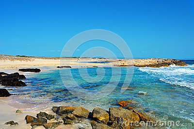 Llevant Beaches in Formentera, Balearic Islands, Spain