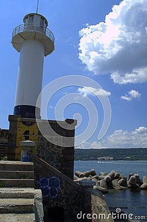 Free Llighthouse Royalty Free Stock Image - 56564506