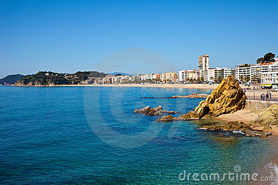 Lloret de Mar area. Costa Brava